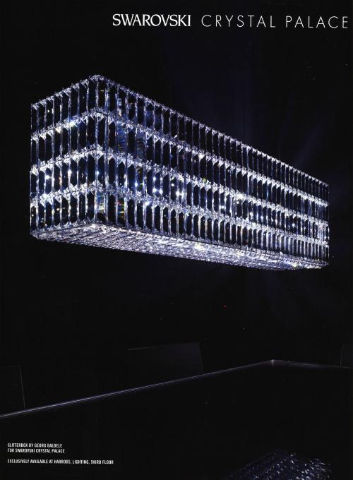 גוף תאורה מקריסטל סוורובסקי