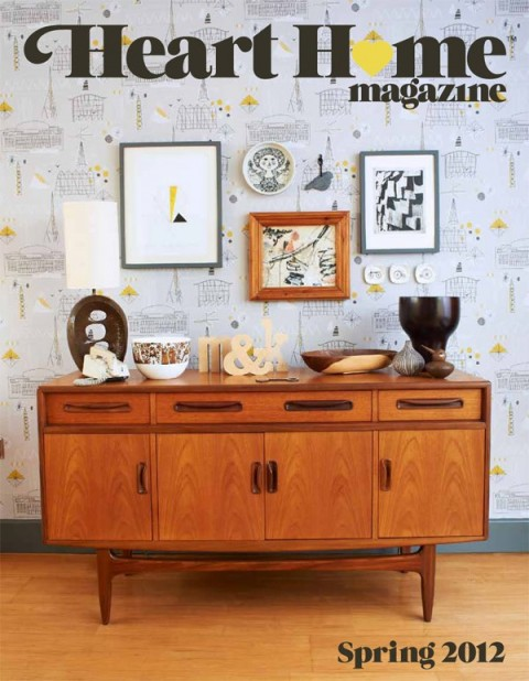 heart home magazine cover, mini moderns