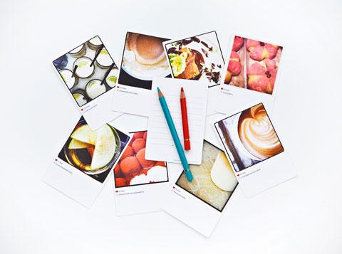 תמונות אינסטגרם מודפסות