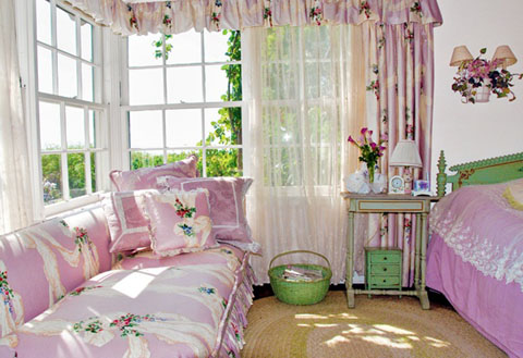 חדר האורחים של ברברה סטרייסנד