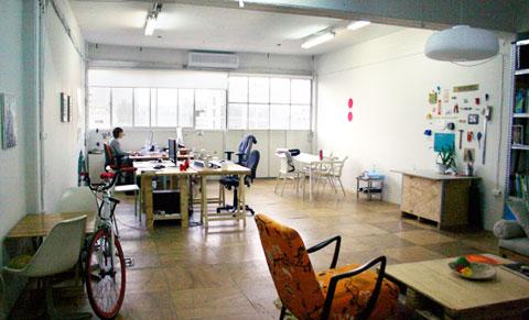 הסטודיו בשכונת מונטיפיורי