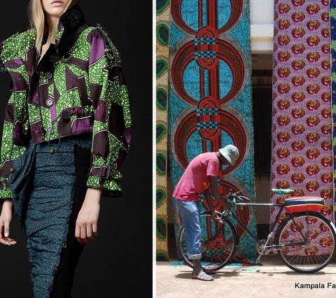 הדפסים אפריקאיים באופנה