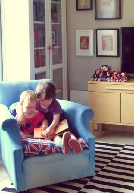 כורסה לילדים עם מושב בטיק