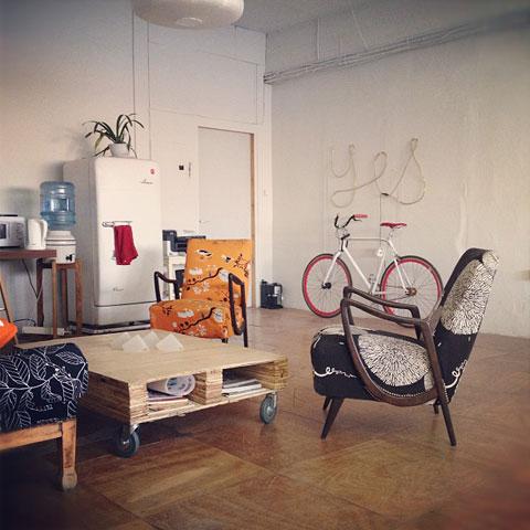 הסטודיו של אביגיל ריינר ושלומי נחמני