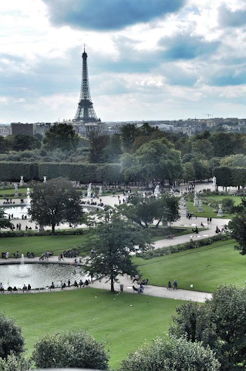 מדריך מצולם לפריז דנה ישראלי